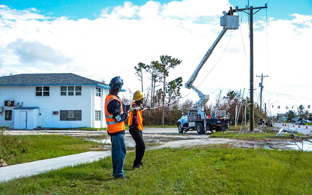 Grand Bahama Hurricane Matthew Restoration