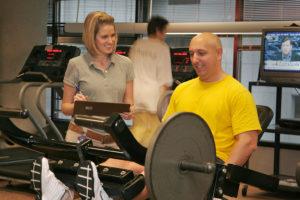 Fitness Center Workout